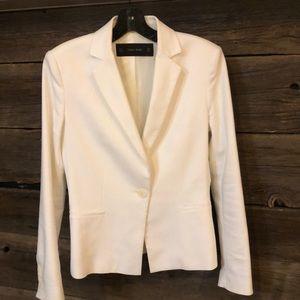 Zara Basic white blazer